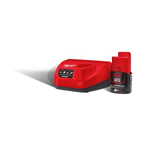 Milwaukee 0 4933451900-M12nrg-201 kit 1 bateria m12b2 + carregador c12c