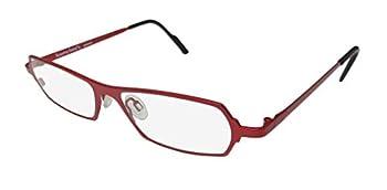 Harry Lary s Mixxxy For Ladies/Women Designer Full-Rim Shape Imported From France Eyeglasses/Eyeglass Frame  50-15-0 Crimson