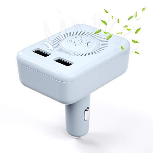 VDIAGTOOL Auto Luftreiniger mit USB-Autoladung, 2 in 1 tragbarer UVC Luftfilter Lufterfrischer kann...