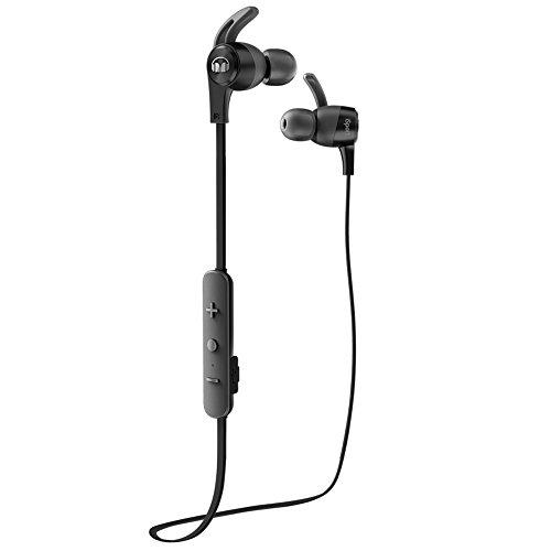 Monster 137089-00 iSport Achieve Bluetooth Wireless In-Ear Kopfhörer schwarz