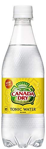 コカ・コーラ カナダドライ トニックウォーター 炭酸水 500mlPET×24本