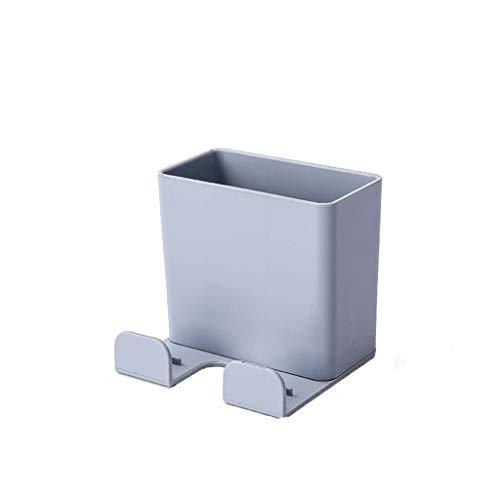 Sulifor Aufbewahrungszubehör für die Hauswirtschaft, Wandfernbedienung Handyhalter Aufbewahrungsbox ohne Lochschalter D