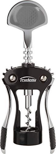 Trudeau 2684305 Tir Bouchon à Levier Deluxe Plastique/Métal Noir/Rouge 10 x 3,7 x 22,7 cm