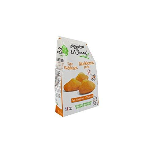 Les Recettes De Celiane Madeleines Sans Gluten 240g