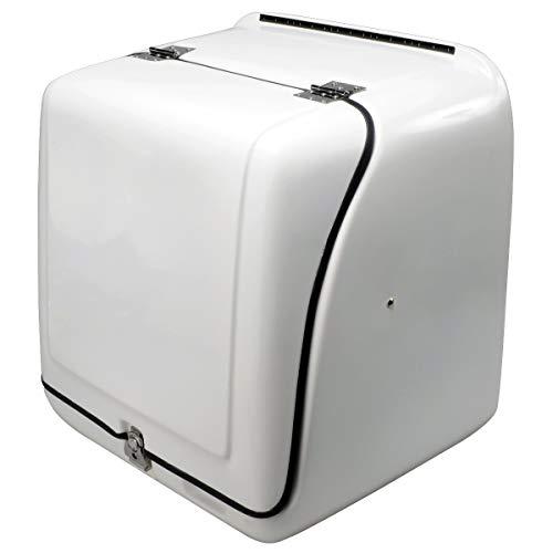 BigOne(ビッグワン) ジャイロ キャノピー 宅配 デリバリー ボックス XLサイズ FRP製 210L 大容量 軽量 保温 ジャイロX アップ UP ズーマー デラックス ベンリィ 110 プロ PRO ギア C 27915