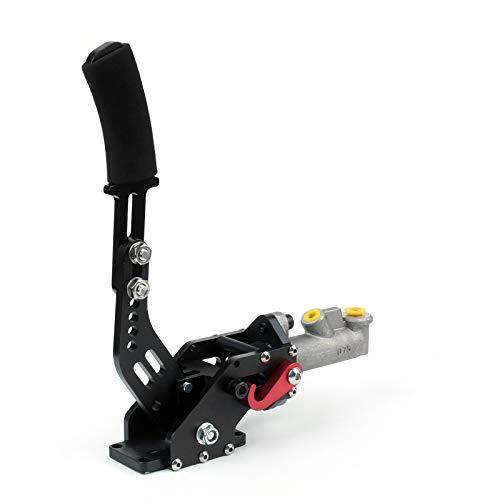 Artudatech Kit freno a mano idraulico per auto, universale in alluminio idraulico Drift E-Brake Racing Freno a mano verticale orizzontale