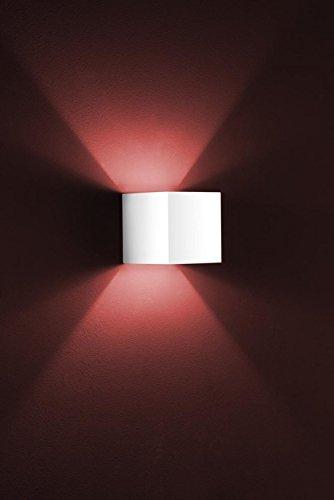Helestra Wandleuchte 1-flammig Siri Farbe: Weiß matt