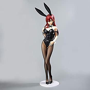 Wsjdmm FAIRY TAIL Erza Scarlet Bunny Anime Figure Action PVC Figurine Model Dolls Anime Gifts Toys Model Kits Best Birthday Christmas Halloween Present Decoration - High 47cm,