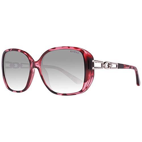 Preisvergleich Produktbild Guess GU7563 5974B Guess Sonnenbrille GU7563 74B 59 Rechteckig Sonnenbrille 59,  Violett
