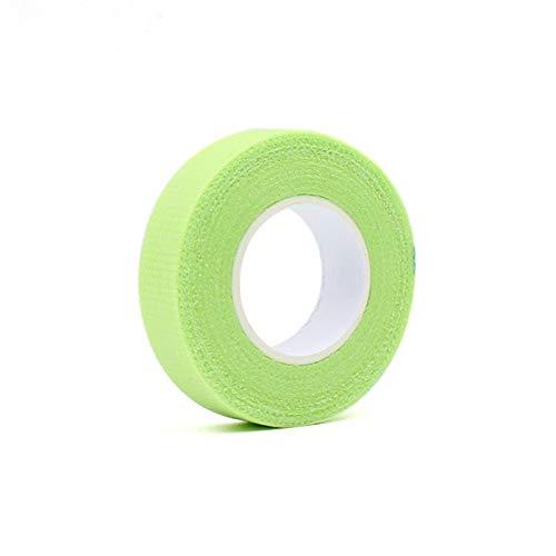 GUOJIAYI 20pcs Eyelash Isolation with Holes, Breathable and Comfortable Green Eye Pad