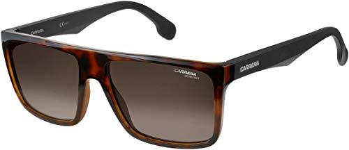 Carrera CA5039/S Gafas de sol rectangulares de plástico para hombre y mujer + kit de cuidado iWear de diseñador gratis