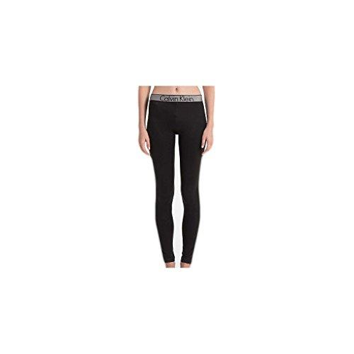 Calvin Klein Damen Legging Hose, Schwarz (Black 001), 36 (Herstellergröße: S)