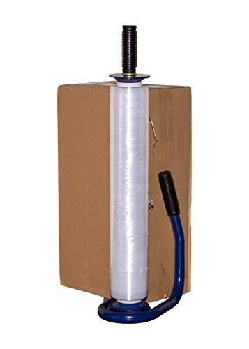 Premium-Abroller für Stretchfolie blau Handabroller thumbnail