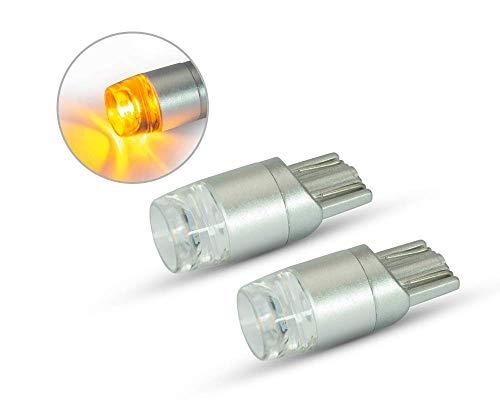 Moto Projecteur Clignotant Ampoules 12V T10 W5W Ambre Voiture Van 4X4 - Paire