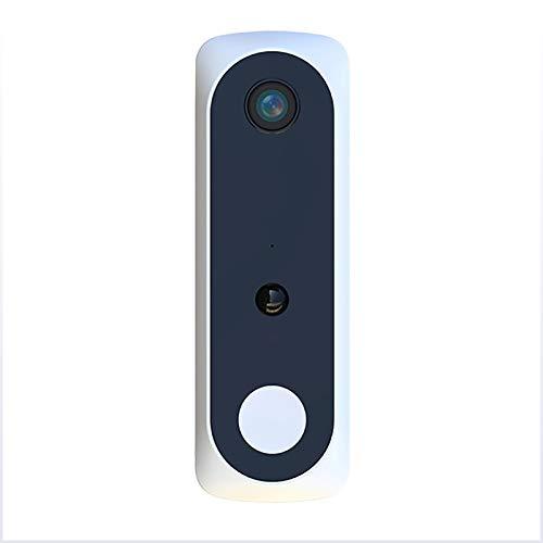 LXT-KL Timbre de vídeo con anillo de gran angular de 166°, timbre de vídeo que reemplaza tu mirilla con vídeo 1080P y conversación bidireccional. detección de movimiento avanzada