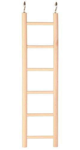 Trixie 5812 houten ladder, 5 sporten / 24 cm