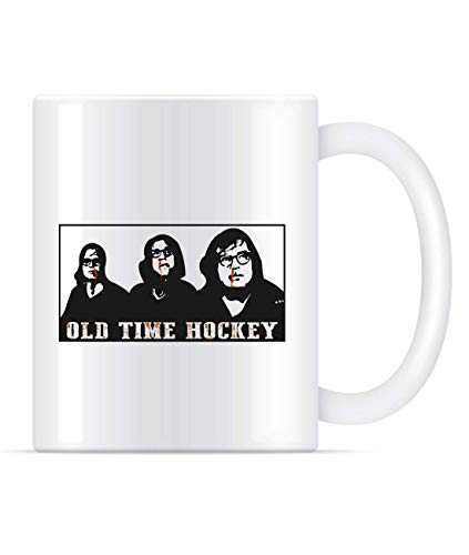 N\A Hanson Brothers Shirt Old Time Hockey Kaffeetasse für Frauen und Männer Teetassen