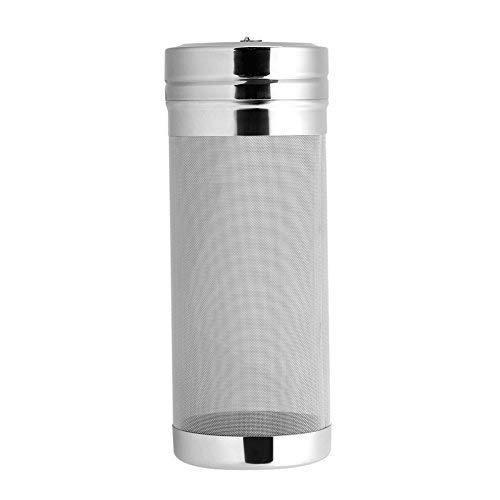 Trémie sèche filtre à bière de maille d'acier inoxydable de 300 microns pour la cartouche filtrante sèche de trémie de café de maison