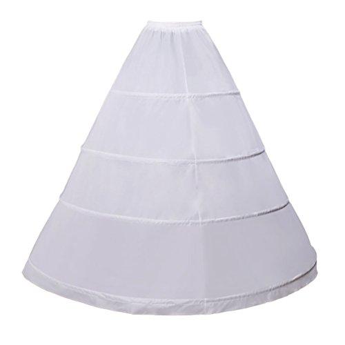 CHENYANG Damen Petticoat Reifrock Unterrock Petticoat Underskirt Crinoline für Rockabilly Kleid...