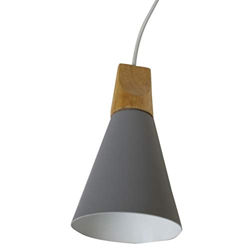 Fanuse LáMpara de Ara?A Minimalista Moderna IluminacióN LáMpara Gris Sala de Estar Dormitorio Cocina Comedor LáMpara