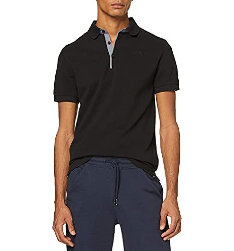 The North Face Premium Polo Piquet Haut de Gamme Homme, Noir (TNF Black), XL