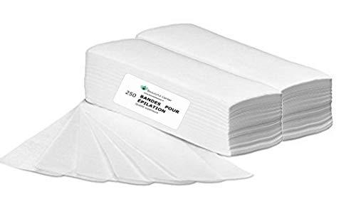 Bandes à épiler, paquet de 250 bandes Purewax By Purenail, TOP PROMO