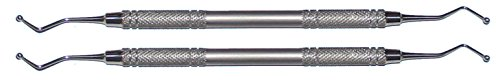 2 Kugelstopfer Edelstahl - 2,5 mm und 3mm - 6mm Rundgriff