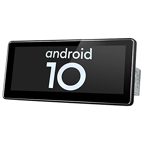 JOYING Android 10.0 System Universal Single Din 8.8 inch IPS Touch Screen 4GB RAM 64GB ROM 8 Core GPS Sat Nav Support Bluetooth/5G WiFi/USB/SD/FM Radio/Android Auto/Subwoofer