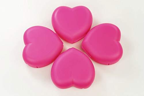 TUPPERWARE To Go Vesperbox Herz (4) neon pink Dose Vesperbox Behälter Box
