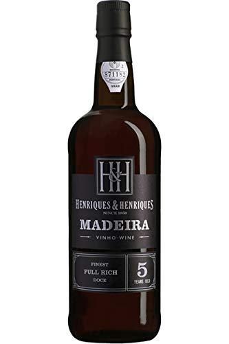 Henriques & Henriques Likörwein aus Portugal Finest Full Rich Aged 5 years (1 x 0,75 Liter)
