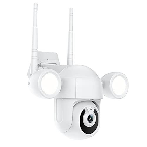prasku Cámara CCTV IP WiFi Cámara inalámbrica WiFi Cámara doméstica Plug-EU, Seguimiento automático Inteligente y Acceso multiusuario