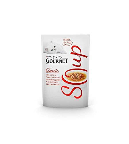 GOURMET Crystal Sopa Sobre El Atún / Acciughe 40 Gr Alimento Para Los Gatos