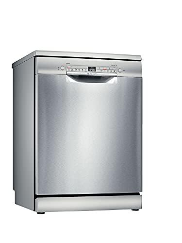 Bosch Electrodomésticos SMS2HTI54E Serie 2 Lavavajillas de libre posicionamiento, 60 cm, color inoxidable