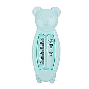 MYBOON Termometri per acqua per bambini Giocattolo a forma di orso intelligente Giocattoli per il bagno per bambini Bambini per bambini Termometro da bagno con temperatura accurata, misuratore di temperatura