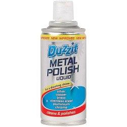 Duzzit Metal Polish 180ml di liquido (131608)