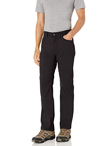 prAna Men's Standard Brion Pant, Charcoal, 31W x 30L