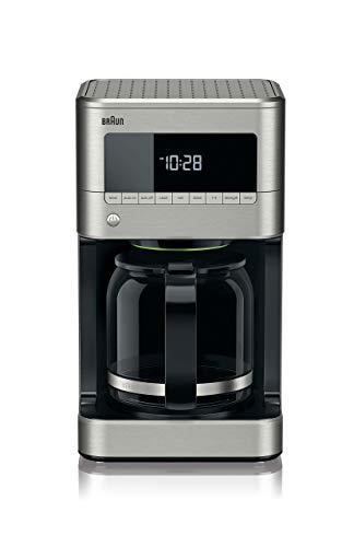 Braun KF7170SI BrewSense Drip Coffeemaker, 12 cup, Stainless Steel (Renewed)