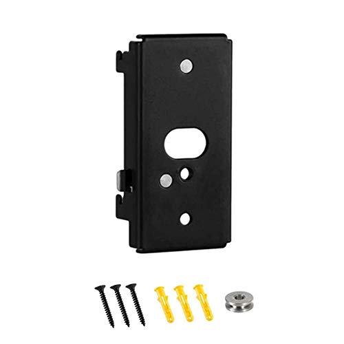 Black Wall Mount Bracketa Compatiblewith Bose SlideConnect WB-50 Wall Bracket soundtouch520 soundtouch300 Lifestyle 600 525 535 Series III 535III 525III SoundTouch Stereo JC Series JCII CineMate 520