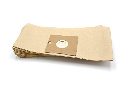 vhbw 10 sac paper pour aspirateur robot aspirateur multi-usages Imetec 08010, 08015, 70401, Powertec, Resiro, Turboclean