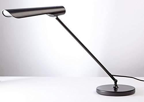 Unilux Urban LED Lampe de bureau LED 8W 800 Lumens avec Rotation du bras à 360° 48 x 30 x 23 cm Noir