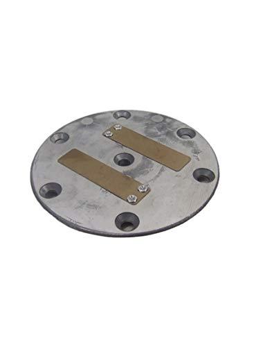 Ventilplatte für Kolben K2 mit Feder Kompressor Kollmann G4 G5 Putzmaschine