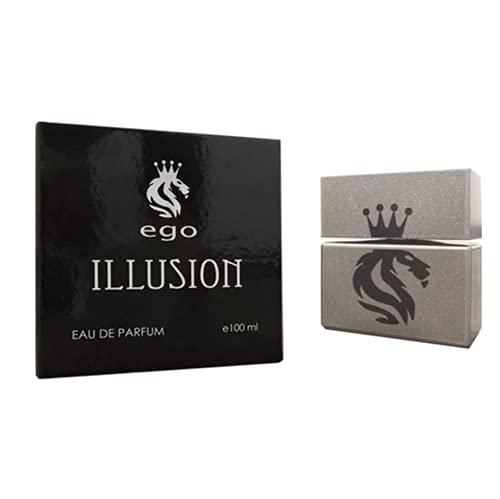 Timeshop Lab EGO Illusion Profumo Eau de Parfum 100 ml da uomo sensuale e 100% naturale Made in Italy