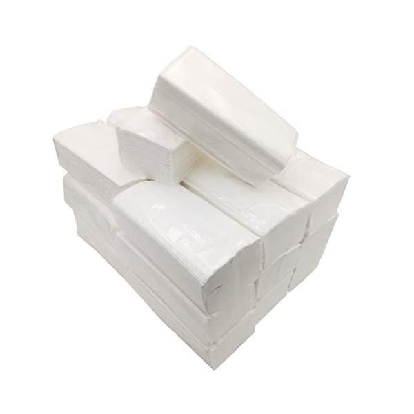 Toalla Papel Secamanos Tissue zig zag, laminadas doble capa, caja 3000