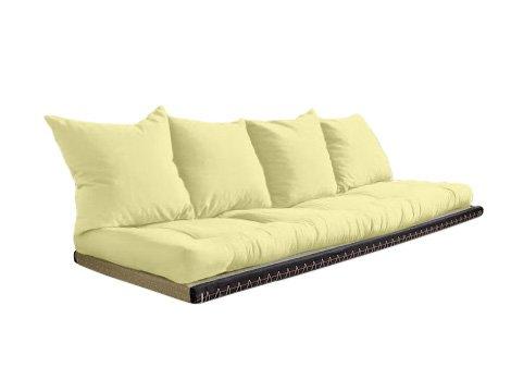 Vivere Zen - Divano Letto Futon - Kanto - futon 70x200 cm + Tatami 80x200 cm - Senza Cuscini