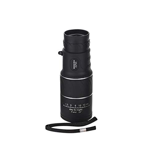 Yhgpom Portable16x52 Outdoor Single Mini HD Monocular Cell Phone Camera Lens TelescopeSuit for Hiking Camping Bird Watching Best Gifts for Men Child