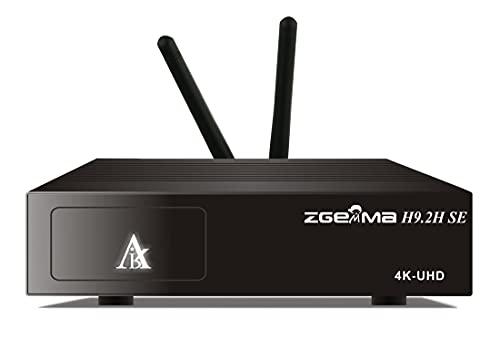 Ricevitore Combo 4K Wi-Fi è Zgemma H9.2H con tuner DVB-S2X multistream e terrestre DVB-T2 compatibile Hevc, decoder combo wireless uhd per iptv