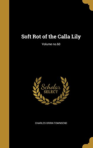 SOFT ROT OF THE CALLA LILY VOL