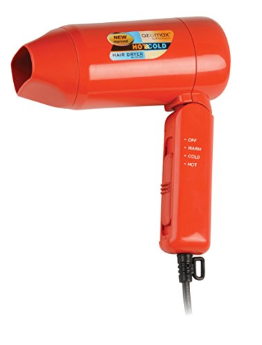 Ozomax Hot and Cold BL-133 Hair Dryer (Red)