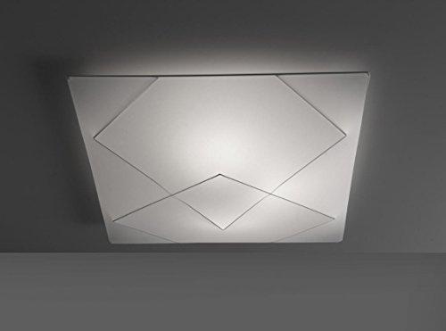 ANPERBAR - Plafón De Techo Tie 80 x 80 Tela Elástica Lavable, Color Blanco