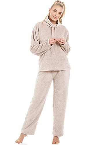 Camille Conjuntos de Pijama de Felpa para Mujer Supersoft 36